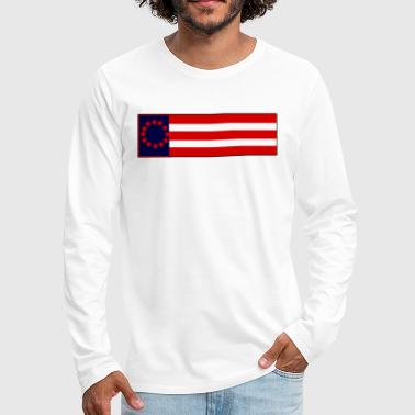 American Pride - Men's Premium Long Sleeve T-Shirt