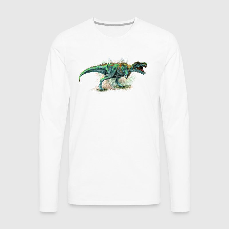 Dinosaur - Men's Premium Long Sleeve T-Shirt
