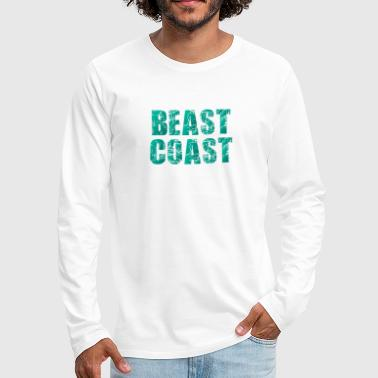 East Coast Beast Coast - Men's Premium Long Sleeve T-Shirt