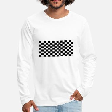 Chess Board Chess board - Men's Premium Long Sleeve T-Shirt