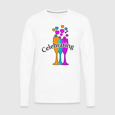 Celebrating - Men's Premium Long Sleeve T-Shirt