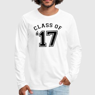 Class of 2017 - Class of 17 - Men's Premium Long Sleeve T-Shirt