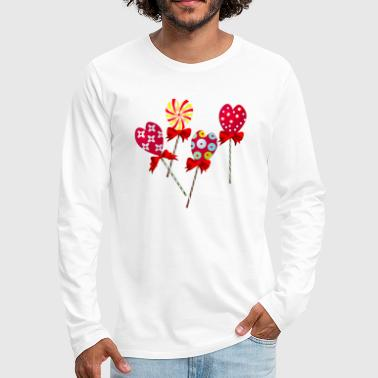 Candy - Men's Premium Long Sleeve T-Shirt