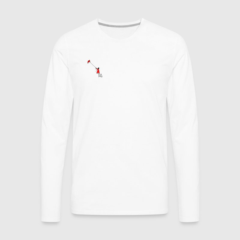 Kite - Men's Premium Long Sleeve T-Shirt