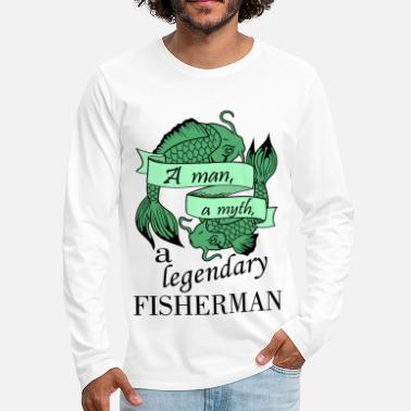 Fisherman Fisherman - green - Men's Premium Long Sleeve T-Shirt