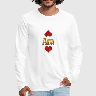 Ara Ara - Men's Premium Long Sleeve T-Shirt