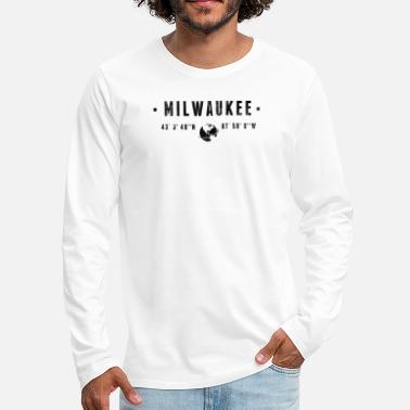 Milwaukee Milwaukee - Men's Premium Long Sleeve T-Shirt