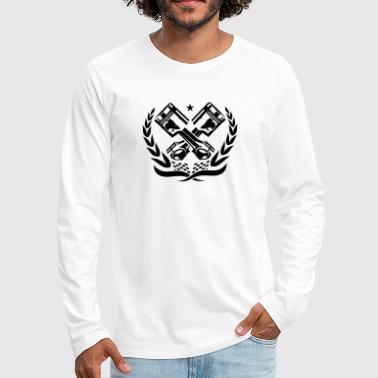 Grip RACE PISTONS - Men's Premium Long Sleeve T-Shirt