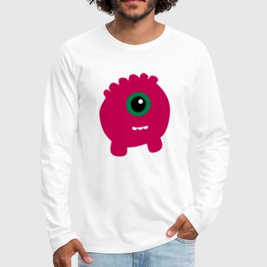 Pink Monster - Men's Premium Long Sleeve T-Shirt