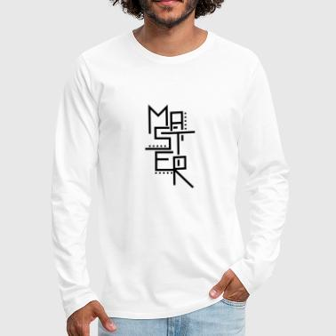 Master - Men's Premium Long Sleeve T-Shirt