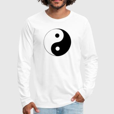 Yin & Yang - Men's Premium Long Sleeve T-Shirt