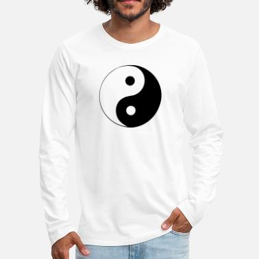 Yin-yang Yin & Yang - Men's Premium Long Sleeve T-Shirt