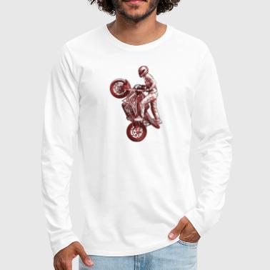 Stunt riding - Men's Premium Long Sleeve T-Shirt