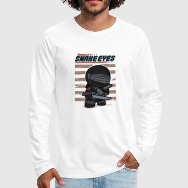 Snake Eyes Snake Eyes - Men's Premium Long Sleeve T-Shirt