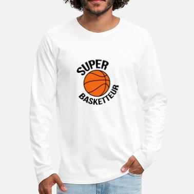 Basket Basketball Basket ball Basket-Ball Game Sport - Men's Premium Long Sleeve T-Shirt