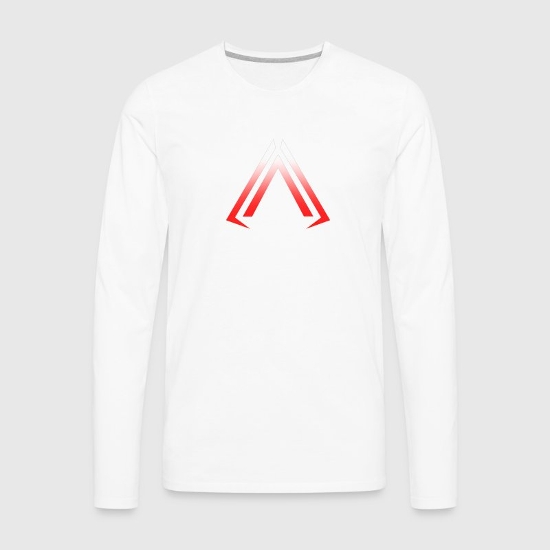 Arise Red Faded - Men's Premium Long Sleeve T-Shirt