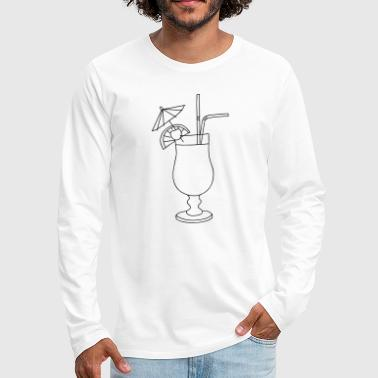 Cocktail - Men's Premium Long Sleeve T-Shirt