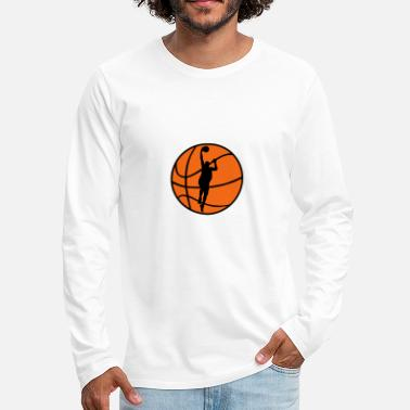 Basketball Player Basketball & Basketball Player  - Men's Premium Long Sleeve T-Shirt
