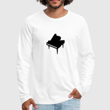 Piano - Men's Premium Long Sleeve T-Shirt