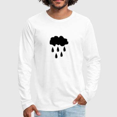 Cloud, rain - Men's Premium Long Sleeve T-Shirt