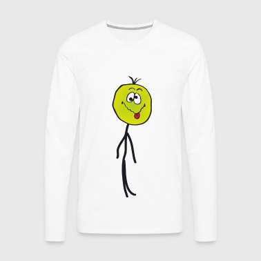 Sick stickman - Men's Premium Long Sleeve T-Shirt