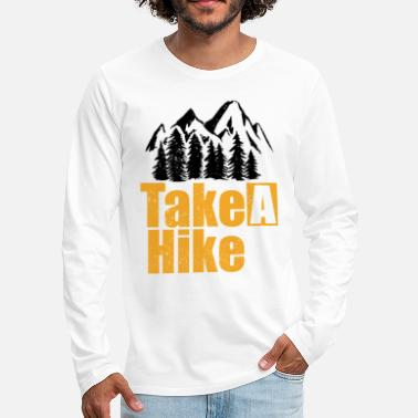 Tour Take a hike - Men's Premium Longsleeve Shirt