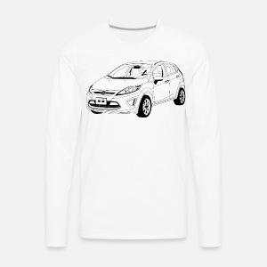 ford fiesta mk7 men s t shirt spreadshirt 1964 Alfa Romeo Giulia Sedan men s premium longsleeve shirt
