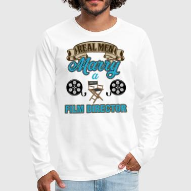 Aperture Director - Real Men Mary A Film Director - Men's Premium Long Sleeve T-Shirt
