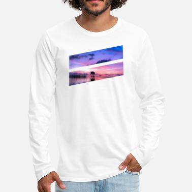 Bright Colors Bright color ocean - Men's Premium Long Sleeve T-Shirt