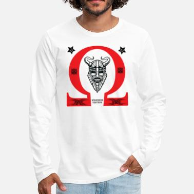 Vape OHM WARRIOR - Men's Premium Long Sleeve T-Shirt