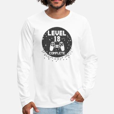 Major Level 18 complete gift party - Men's Premium Longsleeve Shirt