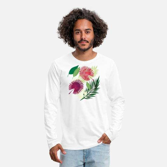 Summercontest Long-Sleeve Shirts - Madagascar - Men's Premium Longsleeve Shirt white