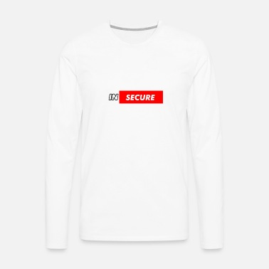 cb05bb1be funny Insecure supreme like design Men's Premium T-Shirt   Spreadshirt