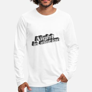 Motion Night In Motion - Men's Premium Longsleeve Shirt