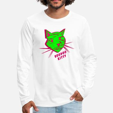 Voodoo Kitty - Men's Premium Longsleeve Shirt