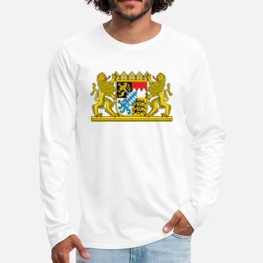 Bavaria Bavaria Coat Of Arms - Men's Premium Longsleeve Shirt