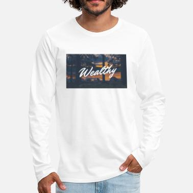 Wealthy Wealthy Inc. - Men's Premium Longsleeve Shirt