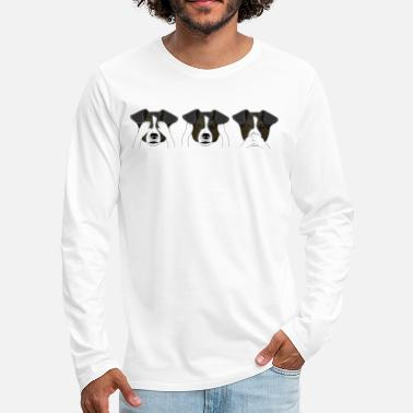 Hear Dog Expressions - Men's Premium Longsleeve Shirt