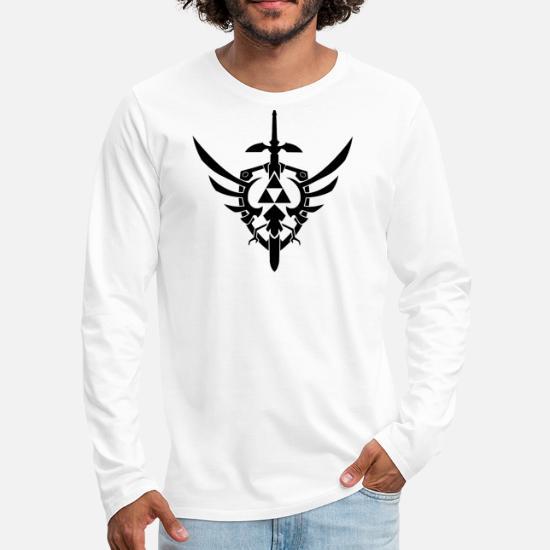 Pochoir Zelda Sword Tattoo Stencil 1 T Shirt Manches Longues Premium