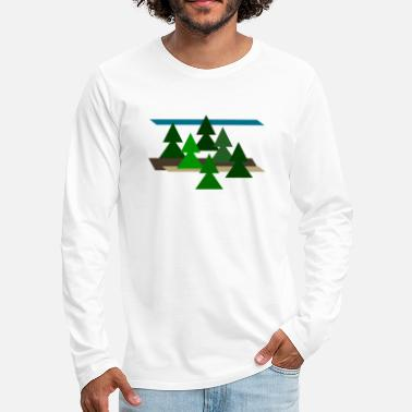 Landscape landscape - Men's Premium Long Sleeve T-Shirt