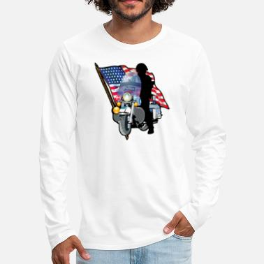Patriot Patriotic - Men's Premium Long Sleeve T-Shirt