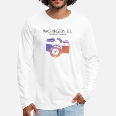 Washington D.c. Camera Washington D.C. - Men's Premium Long Sleeve T-Shirt