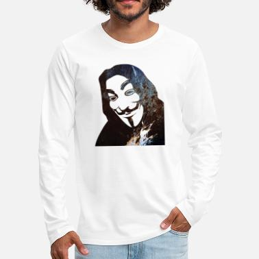 Anonyous Anonymous - Men's Premium Longsleeve Shirt