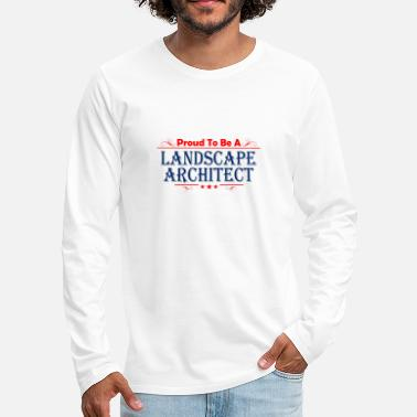 Landscape landscape architect - Men's Premium Long Sleeve T-Shirt
