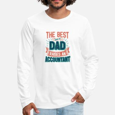 This Great Gifts For Dad From Daughter - The Best - Men's Premium Longsleeve Shirt
