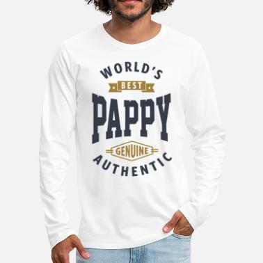 Pappy World's Best Pappy - Men's Premium Longsleeve Shirt