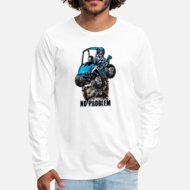 Freestyle UTV SxS No Problem Blue - Men's Premium Longsleeve Shirt