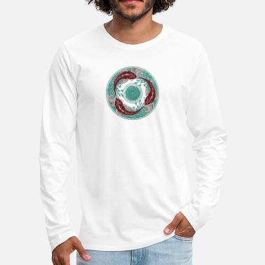 Circular Circular Swimming - Men's Premium Long Sleeve T-Shirt