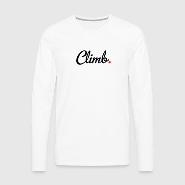 climb - Men's Premium Long Sleeve T-Shirt