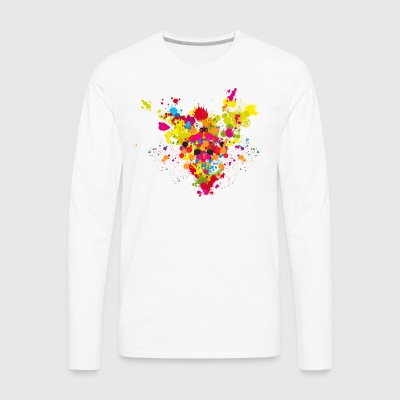 explosion of color by trekkie313 - Men's Premium Long Sleeve T-Shirt